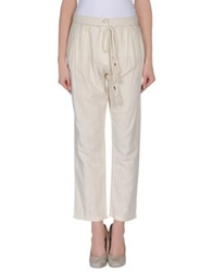 Mes Demoiselles Casual Pants Ivory