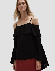 C Meo Collective Compose L S Top Black
