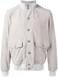 Cruciani Button Up Jacket Nude Neutrals
