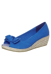 Pier One Wedges Blue