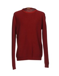 Private Lives Sweaters Maroon