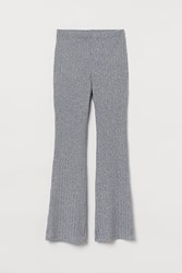 Handm H M Ribbed Jazz Pants Gray