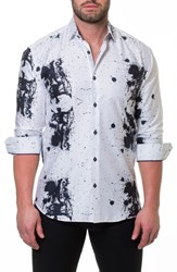Maceoo Luxor Accident Slim Fit Sport Shirt White