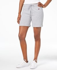 Tommy Hilfiger Sport Drawstring Shorts Pewter Heather