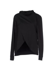40Weft Sweatshirts Black