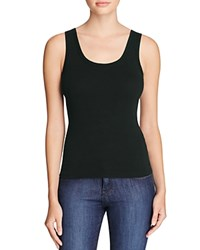 Three Dots Rocker Tank Black