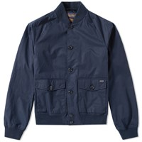 Woolrich Summer Bomber Jacket Blue