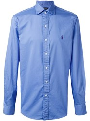 Polo Ralph Lauren Classic Casual Shirt Blue