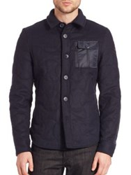 Spiewak Melton Cpo Shirt Jacket Navy