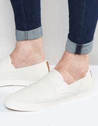 Aldo Agraessa Slip On Plimsolls White