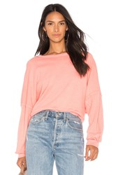 Stateside French Terry Sweatshirt Pink