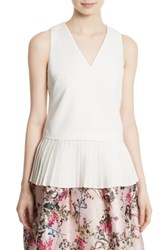 Ted Baker Women's London Oriya Peplum Top
