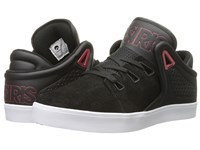 Osiris D3v Black Red 2 Men's Skate Shoes
