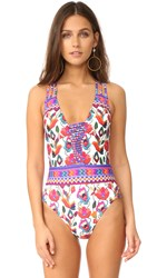 Nanette Lepore Antigua Goddess One Piece Multi