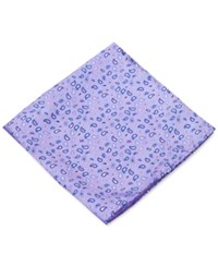 Club Room Pine Paisley Pocket Square Only At Macy's Purple