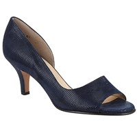 Peter Kaiser Jamala Peep Toe Heeled Sandals Navy