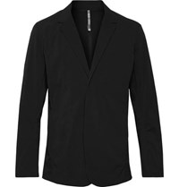 Arcteryx Veilance Arc'teryx Black Lt Slim Fit Water Resistant Stretch Nylon Blazer Black
