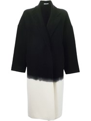 Dusan Ombre Coat Black