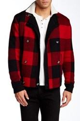 Original Penguin Double Breasted Sweater Red