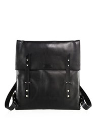 Miansai Canvas Flap Closure Backpack Black