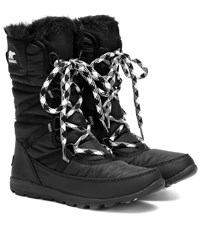 Sorel Whitney Tall Lace Ii Boots Black