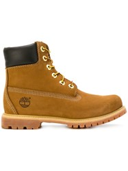 Timberland Classic Original Boots Leather Rubber Brown