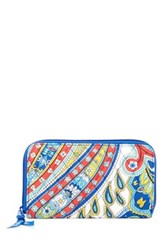 Vera Bradley Accordion Wallet White