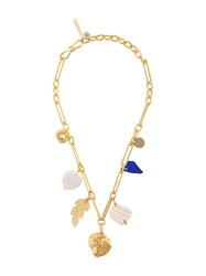 Lizzie Fortunato Jewels Jewels Paradise Charm Necklace Gold