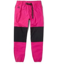 Nike Acg Trail Tapered Colour Block Ripstop Trousers Pink