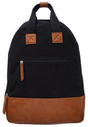 Your Turn Rucksack Black Cognac