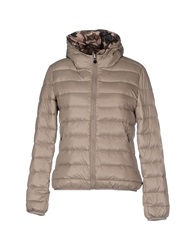 Fornarina Down Jackets Dove Grey