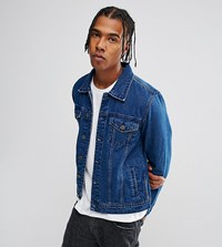 Brooklyn Supply Co. Co Mid Wash Denim Jacket Blue