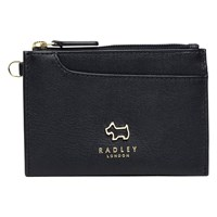 Radley Pockets Leather Small Coin Purse Black