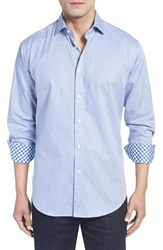 Thomas Dean Men's Classic Fit Sport Shirt