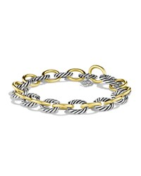 Oval Link Bracelet With Gold David Yurman Red