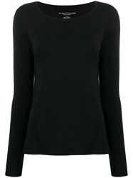 Majestic Filatures Boat Neck Long Sleeved T Shirt 60