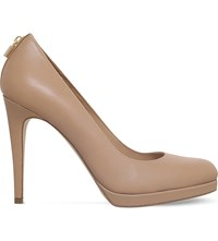 Michael Michael Kors Antoinette Leather Courts Nude