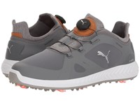 Puma Golf Ignite Power Adapt Disc Quiet Shade Quiet Shade Golf Shoes Gray