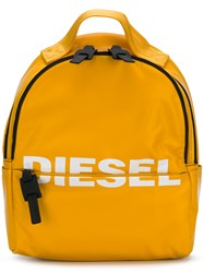 Diesel F Bold Backpack Yellow And Orange