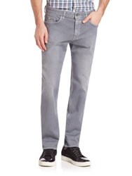 Hugo Boss Straight Leg Jeans Grey