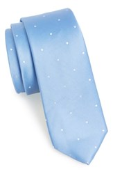 The Tie Bar Woven Silk Light Blue