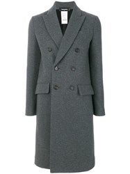 Dsquared2 Double Breasted Coat Grey