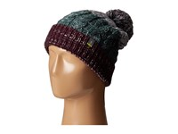 Smartwool Isto Retro Beanie Aubergine Heather Beanies Brown