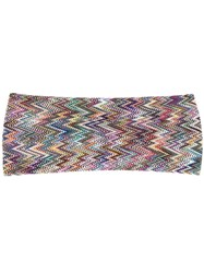 Missoni Embroidered Hair Band Green