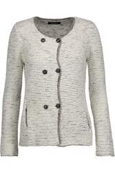 Isabel Marant Della Double Breasted Knitted Cardigan Off White