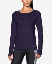 Under Armour Sport Long Sleeve Training Top Midnight Navy