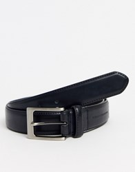 French Connection Prong Buckle Belt Black