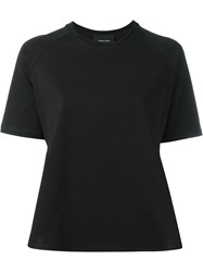 Simone Rocha Round Neck T Shirt Black
