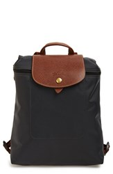 Longchamp 'Le Pliage' Backpack Grey