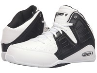 And 1 Rocket 4 Bright White Stretch Limo Bright White Men's Basketball Shoes